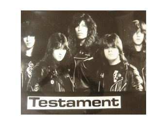 Testament -Group picture photo poster New world order
