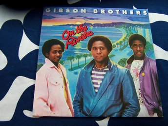 GIBSON BROTHERS - ON THE RIVIERA LP 1980