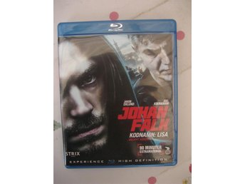 Johan Falk 12 - Kodnamn: Lisa, Bluray, Action/thriller