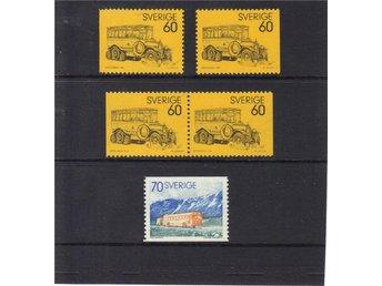 Postdiligenser, 1973, komplett ** - Göteborg - Postdiligenser, 1973, komplett ** - Göteborg
