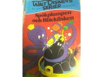 Walt Disney s Serier - Nr 5. 1976. Spökplumpen & Bläckfisken - Bolmsö - Walt Disney s Serier - Nr 5. 1976. Spökplumpen & Bläckfisken - Bolmsö