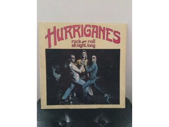 "HURRIGANES "" ROCK AND ROLL ALL NIGHT LONG""- 1. PRESS- LOVE RECORDS 1973"