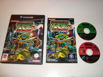 Gamecube - Teenage mutant ninja turtles 2: BattleNexus - fint skick