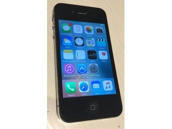 iPhone 4s 32GB svart låst till 3