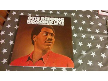 Otis Redding - Recorded Live!  LP!
