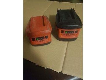 2 st Hilti batteri 1 st 22v Li-ion 3.3Ah och 1 st 36v Li-ion 3.0Ah - Mörarp - 2 st Hilti batteri 1 st 22v Li-ion 3.3Ah och 1 st 36v Li-ion 3.0Ah - Mörarp
