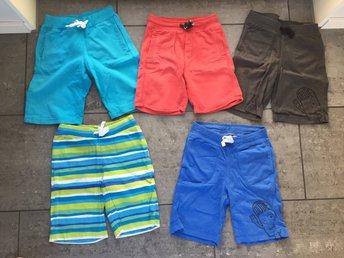 5 par shorts i fint skick, stl 98, 98/104 samt 104. HM och Lindex - Löddeköpinge - 5 par shorts i fint skick, stl 98, 98/104 samt 104. HM och Lindex - Löddeköpinge