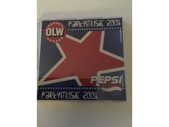 Party Music 2001 CD OLW och PEPSI reklam