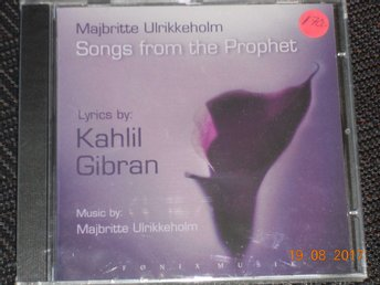 MAJBRITTE ULRIKKEHOLM - Songs from The Prophet, Inplastad CD Fønix Musik 2003
