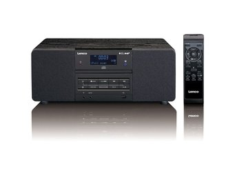 Lenco DAB+/FM-radio med CD/MP3-spelare DAR-050 svart