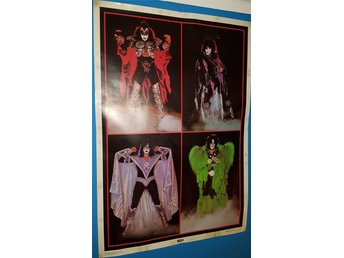 KISS poster 1979/80