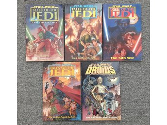 5 st Star Wars seriealbum från Dark Horse Comics