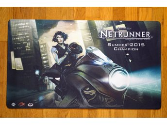 Android Netrunner Play Mat - Tri-maf Contact - Summer 2015 Tournament