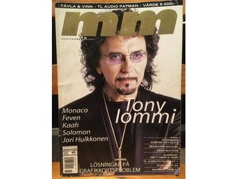 Musikermagasinet MM. Nr. 11, november 2000. Tony Iommi m.fl.