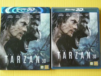 ACTION: THE LEGEND OF TARZAN 3D + 2D  *  NYSKICK !