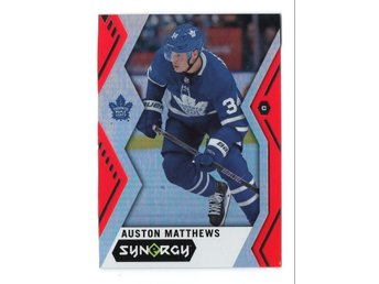 17-18 Upper Deck Synergy Red Auston Matthews