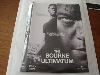 DVD-THE BOURNE ULTIMATUM *Matt Damon*