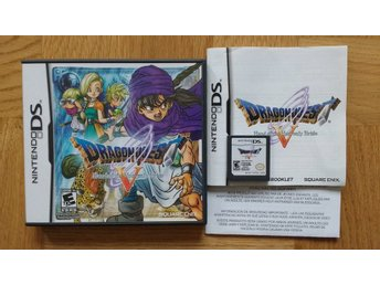 Nintendo DS: Dragon Quest V 5 Hand of the Heavenly Bride