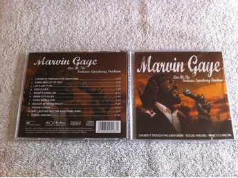 Marvin Gaye - Live at the Indiana Speedway Stadium