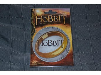 The Hobbit Logo Klistermärke Vinyl Ny Rund Sticker Se Hit!