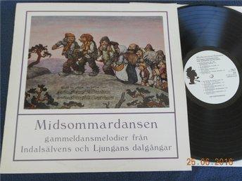 V/A MIDSOMMARDANSEN Sixten Sundlings orkester Paul Sjödin spelmanskvintett - Gävle - V/A MIDSOMMARDANSEN Sixten Sundlings orkester Paul Sjödin spelmanskvintett - Gävle