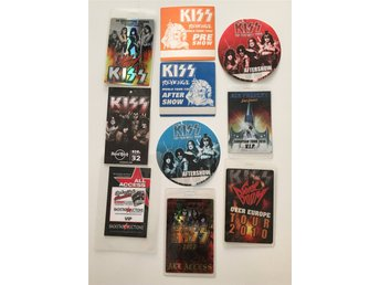 KISS backstagepass 1992 - 2015