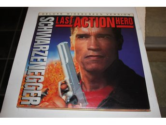 Last Action Hero Lazer disc