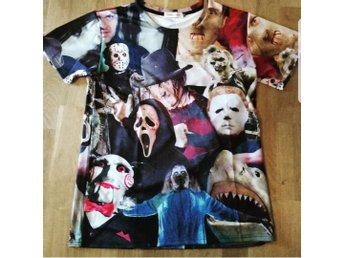 Jason, Freddy, Myers, jigsaw t-shirt