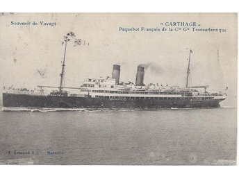 "French Liner "" CARTHAGE """