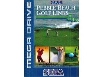 Pebble Beach Golf Links - Megadrive