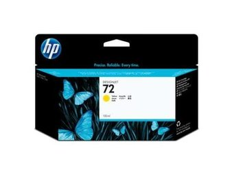 HP No72 Yellow Ink Cartridge 130ml