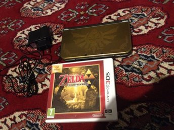 The Legend of Zelda New Nintendo 3ds Xl Hyrule Edition