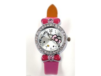 Hello Kitty Girl Flickor Armbandsur Watch - Från EU-lager