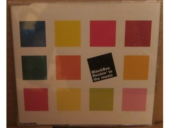 "Black Box ""Rockin' To The Music"" Deconstruction CD singel italo house"