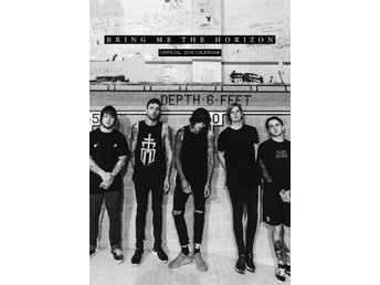 BRING ME THE HORIZON - Officiell 2018 Kalender - 42cm x 30cm - Ny