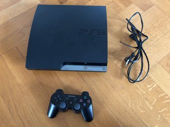PlayStation 3 320GB med 26 spel