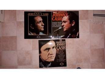JOHNNY CASH The Great + The Magnificent + The Mighty, 3st LP HALLMARK USA /UK