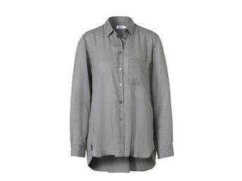 High-low Tencel Shirt - SKJORTOR, S, FILIPPA K