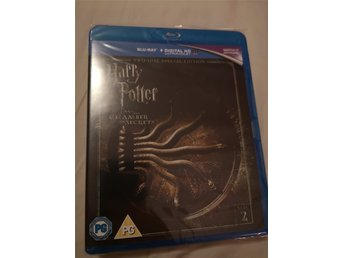 Harry Potter 2 the chamber of the secrets - bluray, splitter ny. Inplastad!