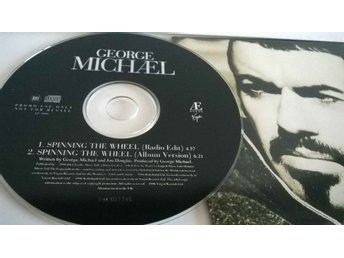 George Michael - Spinning the wheel, single CD, promo