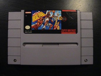 NCAA BASKETBALL / SUPER NINTENDO SNES / USA IMPORT