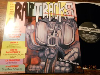 V/A The Greatest Rap Tracks, LP Dureco Holland 1986 MC Miker G/Deejay Sven