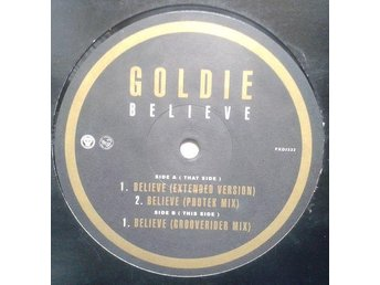 "Goldie title* Believe* Lounge Club,Drum n Bass, Future Jazz, Soul 12"" EU"
