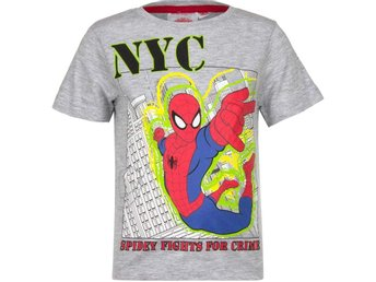 T-shirt Spider-Man stl. 6 år