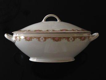 Defekt terrin soppterrin med guldkant Bavaria Vintage - Nora - Defekt terrin soppterrin med guldkant Bavaria Vintage - Nora