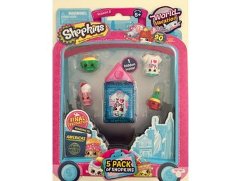 Shopkins serie 8 World Vacation AMERICAS 5 st