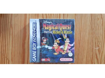 NYTT! Disney's Magical Quest Starring Mickey & Minnie - GBA Game Boy Advance