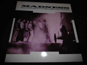 "Madness - Waiting for the ghost train/Megamix - 12"" - 1986"