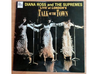 LP Diana Ross & the Supremes: Live at London's Talk of the Town