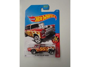Hot Wheels 2017 ´55 Chevy Bel Air Gasser